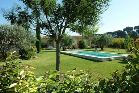 Très belle villa dans les vignes - Caromb