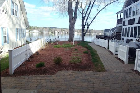 Lake Winnisquam Waterfront Condo - Condominio