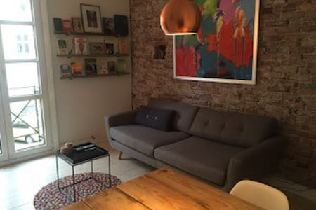 Bright, clean and cozy 56 sq. flat - Kopenhag - Daire