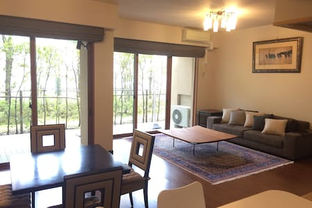 Cozy spacious flat on Prince Street - Karuizawa-machi - Wohnung