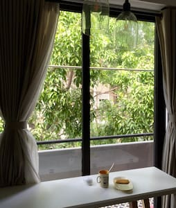 """Super cozy & charming rooftop BR in an elegant flat @great location where you can easily access to popular attractions and eateries just on foot. It will make your stay in the city once called """"The Emerald of the Far East"""" truly an unique experience."""