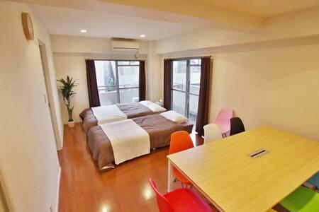 【7People】Direct to Shinjuku/Shibuya 1LDK/wifi #55 - Apartment