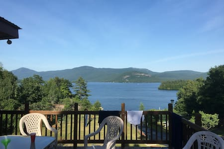 Four Bedroom House-amazing views of Lake George - House