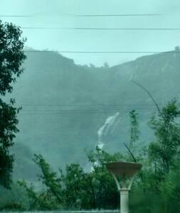Waterfall Facing Bunglow at Lonavala - Pune