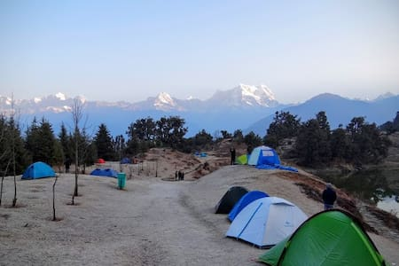 Deoria tal Lakeside Camp: MHET Club - Tent