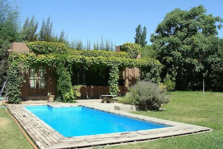 Comfortable house near mountains in Chacras w/pool - Hus