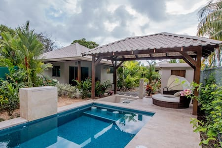 J5 Luxury 2 bdrm Villa w/Incredible garden - Uvita