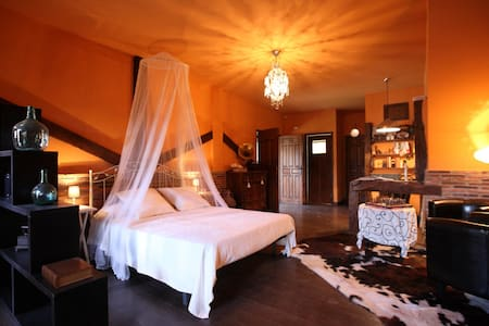 Exclusivo loft rural ideal para conocer La Rioja - Ventosa - Apartamento