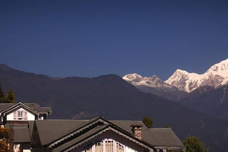 Norbu Ghang Resort - Denzong Suite rooms - Pelling - Villa