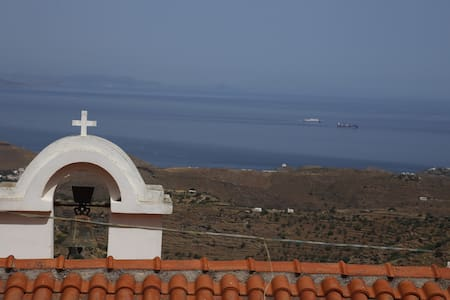 Comfortable House with wonderful view on Ioulis - Dom