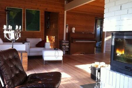 Wooden house close to ski resorts. - Rumah