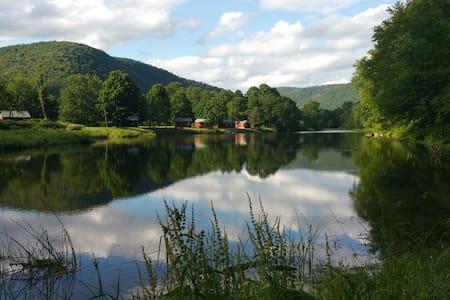 Catskills' Farmhouse & Riverfront - Ház