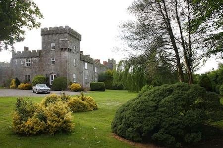 Historical Fanningstown Castle Adare in Ireland - Castelo