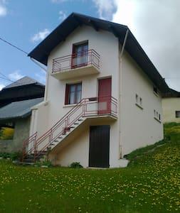 Col du Chaussy - Huis