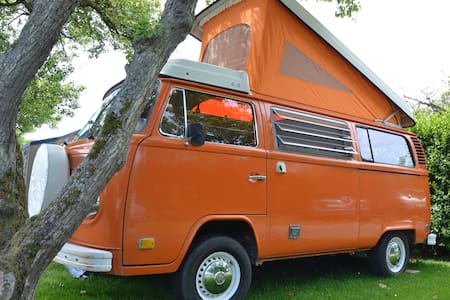 VW-bus of 1974 - Campingvogn