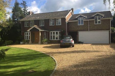 Large, modern but cosy guest house - Domek gościnny