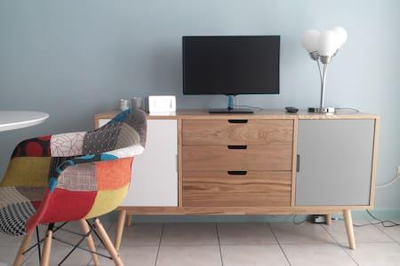 Studio dans une villa à la campagne - Enghien - Condominium