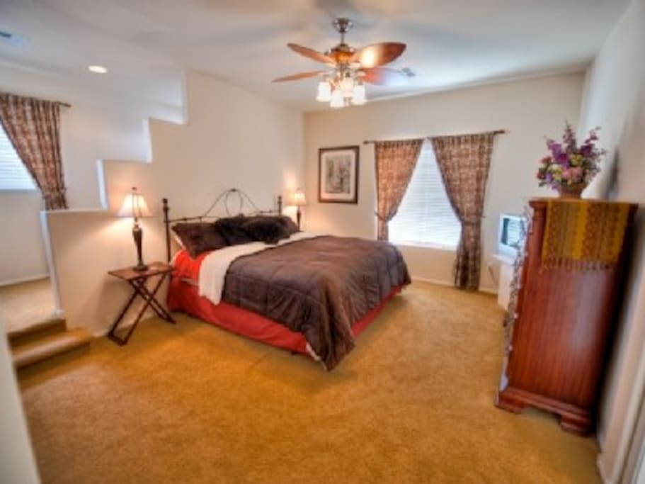 Master Bedroom with private Office