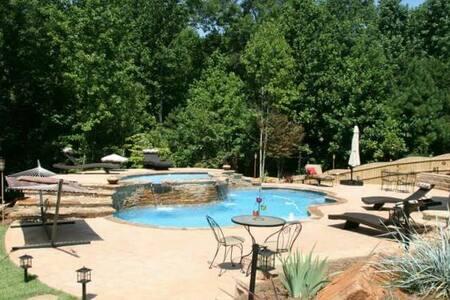 Romantic Private Getaway PoolOasis - Powder Springs - Annat