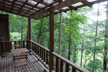 軽井沢、蓼科の中間で両方を楽しめる別荘。山登りの拠点にも。 - Sakuho-machi