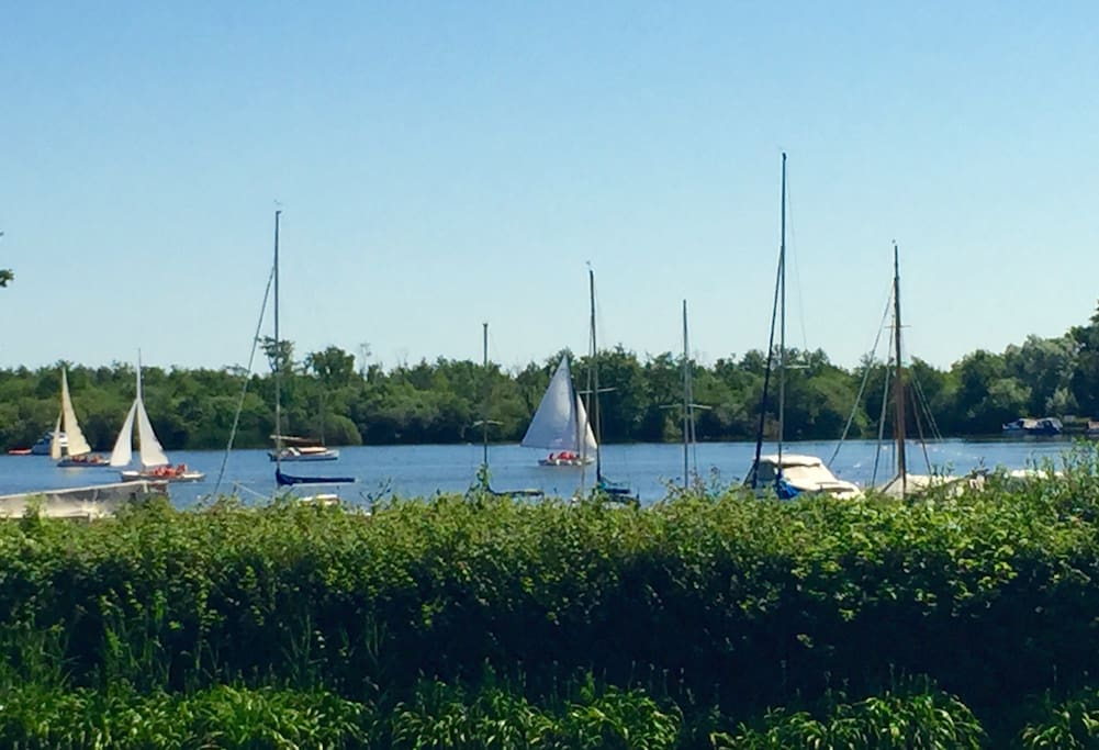 Boats on the broad