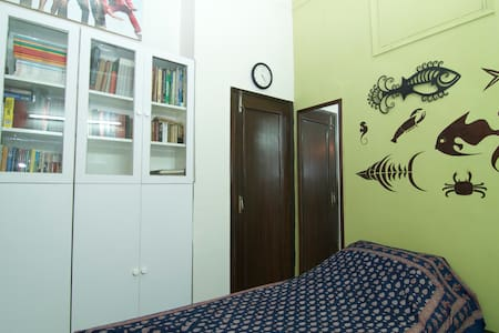 Quaint and cosy room in south delhi - New Delhi - Huis