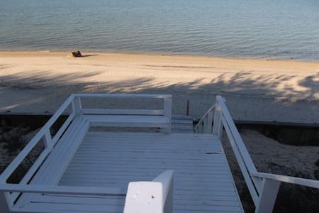 Waterfront House with Private Beach - Hampton Bays - House