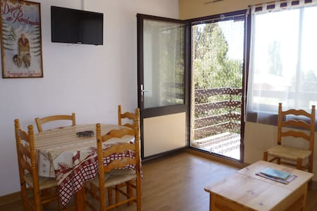 Studio Cabine à Font-Romeu - Lägenhet