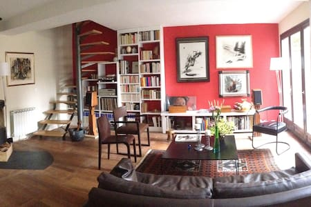 Jolie maison familiale proche Paris - Stadswoning