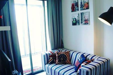 City / Comfort / Clean / MRT Rama 9 - Bangkok - Apartment