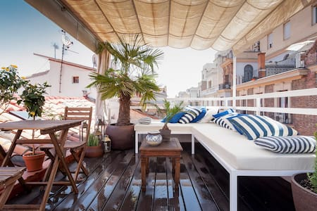 Fantastic Terrace GranVia/Chueca - Madrid - Apartment