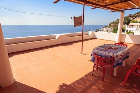 Camera affitto sul mare - Alicudi - Lipari - Haus