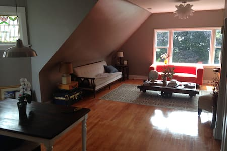 Sun filled HUGE two bedroom place!