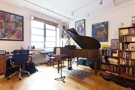 Loft in NYC's hottest neighborhood