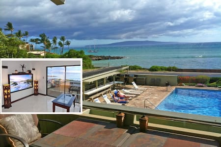 Ocean View 1BR @ The Shores of Maui - Kihei - Társasház
