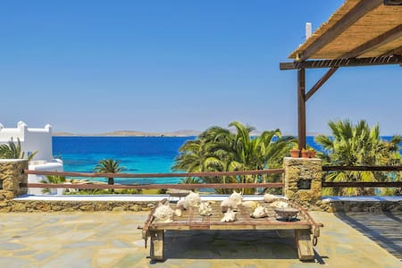Amazing Sunset Views + Beach access - Agios Ioannis Diakoftis - Villa