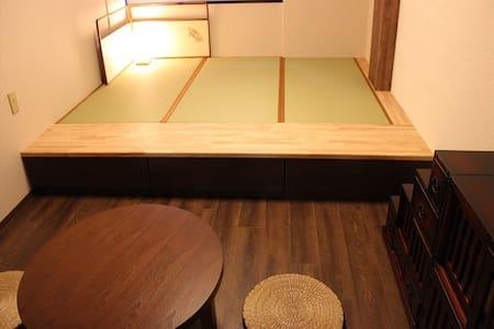 Wi-Fi完備、兼六園もすぐ近くなので茶室をイメージしたお部屋です