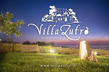 B&B Villa Zufrò Orange Room - Vibo Valentia  - Bed & Breakfast