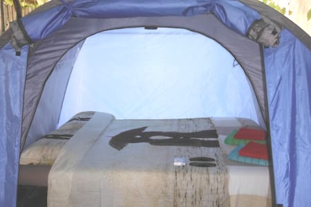 Amazing Tent With Real Double Bed