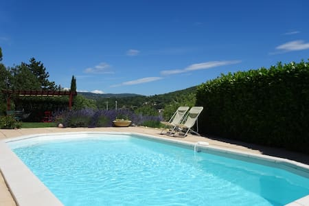 Villa la Romarine offer you a comfortable and cosy living at a swedish couple living in Provence. You will have at your disposal two small bedroom with two comfortable beds in each room. A large shower room with washstand and a separate toilet.