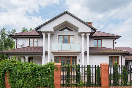 Villa nearby Warsaw Airport!!! - Huis