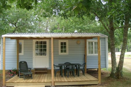 MOBILHOME CAMPING CALME OMBRAGE - Vielle-Saint-Girons - Andre
