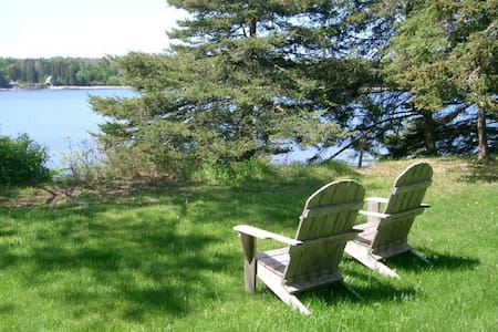 Dow Road Waterfront Cottage - Deer Isle