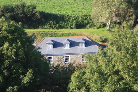 Farmhouse B&B in Horsecombe Valley