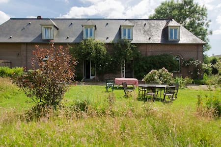 Farm house Normandie for 10 people - Casa