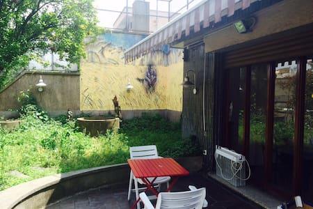 petit chambre avec terrace