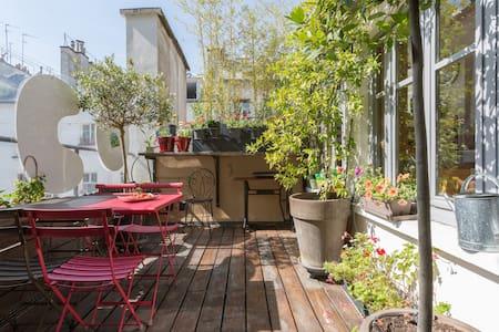 Perfect location, quiet & terrace