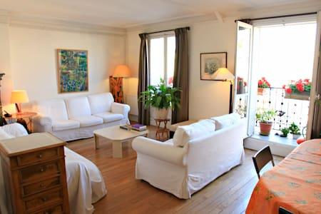60 m2 rooftop + Eiffel Tower view - Paris - Apartment