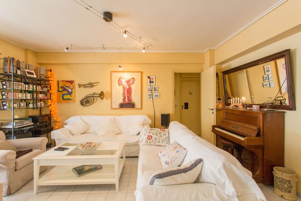 A Great Apt in Peaceful Area/Athens