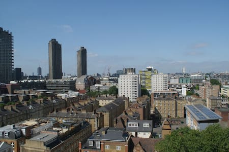 Spectacular view across london